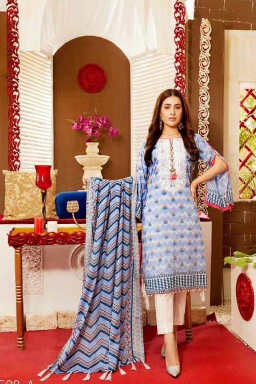 Tawakkal Tawakkal Amna Sohail Imperail Reflections RESTOCKED Lawn Dupatta Salwar Suits