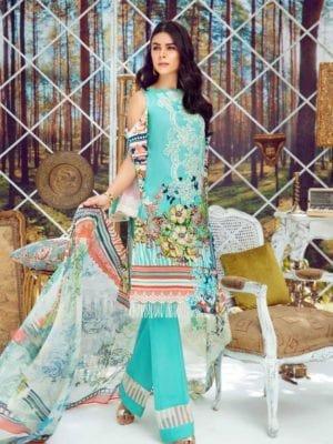 *On Sale* Firdous Virasat Summer Lawn 19241 A Restocked best pakistani suits collection