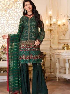 ~Sold out~ Maryam's Empereus Chiffon Collection Vol 5 Chiffon Dupatta Salwar Suit