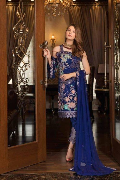 *On Sale* Ramsha Volume 16- Luxury Vibes F-1604 Chiffon Dupatta Salwar Suit