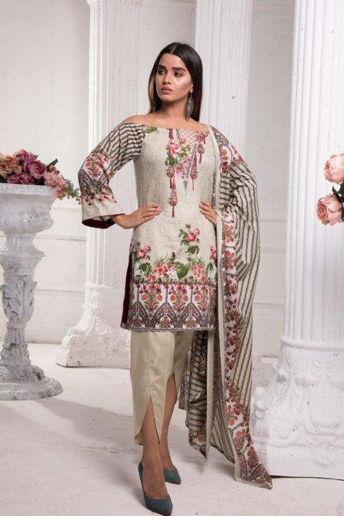 *On Sale* Sahil Pakistani Suit Printed Lawn RESTOCKED Lawn Dupatta Salwar Suits