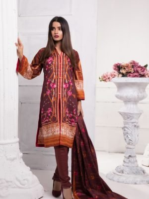 Ready to Ship Sahil Pakistani Suit Printed Lawn Lawn Dupatta Salwar Suits