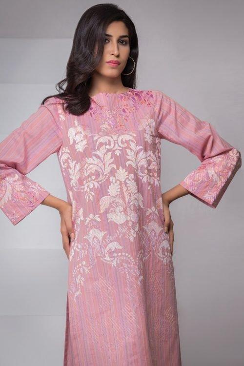 Alkaram Alkaram 1 pc – shirt – JC-27-18-Pink Alkaram Pakistani Suits