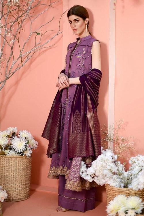 *Hot on Sale* LSM Color Fusion LJD-0003 HOT Lawn Dupatta Salwar Suits