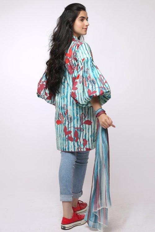 *On Sale* Al Karam MAK-A-001-19-2-Blue Ready to Ship - Original Pakistani Suits