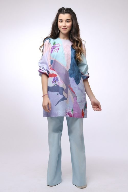*Hot on Sale* Al Karam MAK-C-001-19-2-Purple HOT Ready to Ship - Original Pakistani Suits