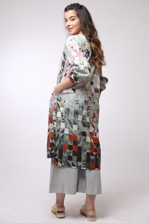 *On Sale* Al Karam MAK-C-002-19-2-Grey Ready to Ship - Original Pakistani Suits