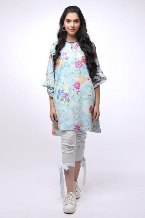 *On Sale* Al Karam MAK-C-004-19-2-Blue Ready to Ship - Original Pakistani Suits