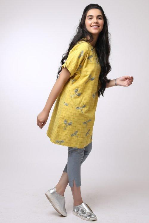 *Hot on Sale* Al Karam MAK-D-001-19-2-Yellow HOT Ready to Ship - Original Pakistani Suits