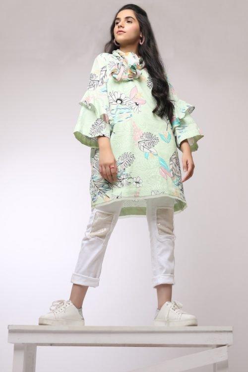 *On Sale* Al Karam MAK-G-002-19-2-Green Ready to Ship - Original Pakistani Suits