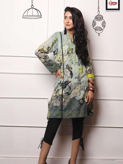 *On Sale* LSM Pakistani Kurti Embroidered Collection 2019 DK1006 RESTOCKED LSM Pakistani Kurti Embroidered Collection 2019