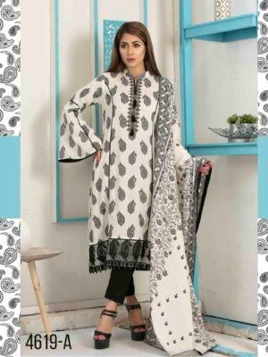 *On Sale* Tawakkal Amna Sohail Bold New Summer Lawn Lawn Dupatta Salwar Suits