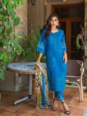 *On Sale* Kalyan Festive Embroidery HOT Chiffon Dupatta Salwar Suit