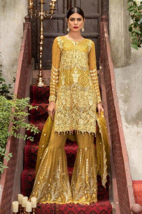 Maryam Gold Luxury Chiffon Vol 4 Maryam Gold Luxury Chiffon Vol 4 - Original Chiffon Dupatta Salwar Suit