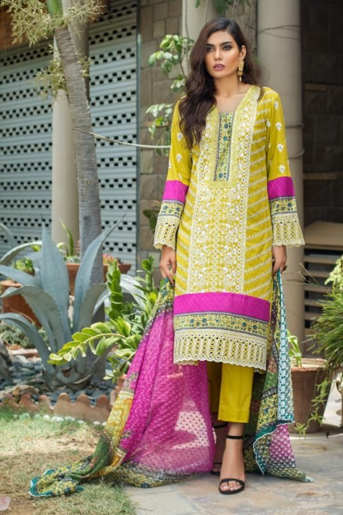 *On Sale* Kalyan Festive Embroidery Collection RESTOCKED Chiffon Dupatta Salwar Suit