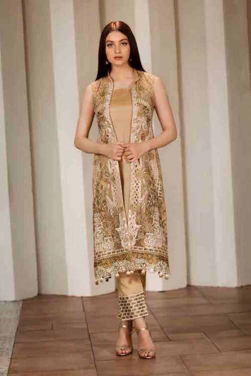 Ramsha Volume 17- The Verve Collection - Original Ramsha Volume 17- The Verve Collection Chiffon Dupatta Salwar Suit