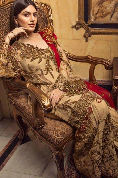 *On Sale* Zircon by Zebtan Chiffon Dupatta Salwar Suit
