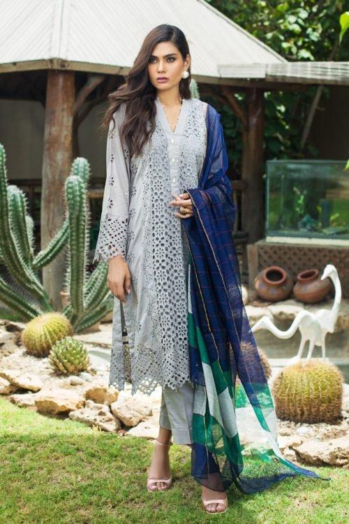 *On Sale* Kalyan Festive Embroidery Collection Chiffon Dupatta Salwar Suit