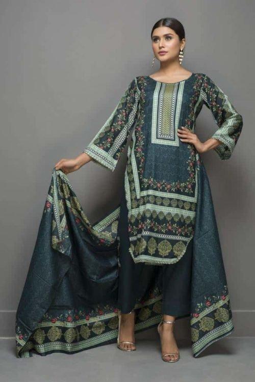 Sahil Sahil Pakistani Suit Printed Lawn Lawn Dupatta Salwar Suits