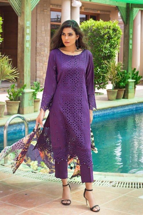 *Hot on Sale* Kalyan Festive Embroidery Collection – HOT Chiffon Dupatta Salwar Suit