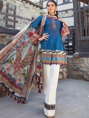 *Hot on Sale* Sana Safinaz Kurnool Lawn 4B HOT Lawn Dupatta Salwar Suits