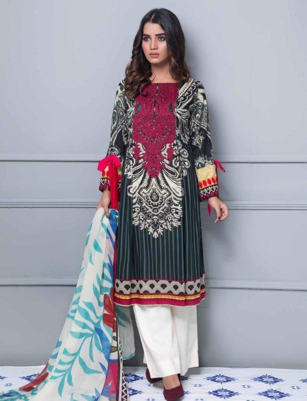 *On Sale* Rang Rez Designer Lawn Vol 2 RESTOCKED Chiffon Dupatta Salwar Suit