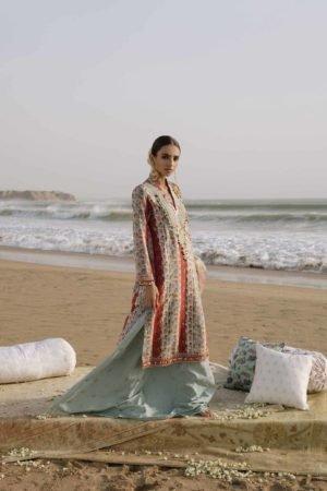 Zara Shahjahan Luxury Lawn 2019 SAHIL-D8 RESTOCKED *Best Sellers Restocked* Lawn Kameez Suits