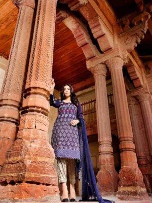 *Hot on Sale* Rang Rasiya's Luxury Festive Carnation HOT Chiffon Dupatta Salwar Suit