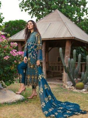 *Hot on Sale* Rang Rasiya's Luxury Festive Carnation – FSTN HOT Chiffon Dupatta Salwar Suit