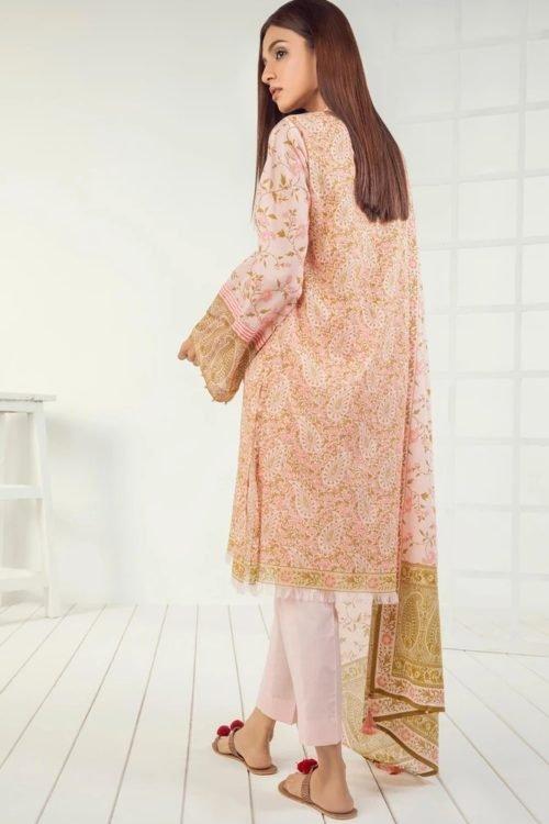 Orient Mid Summer Lawn - Original Orient Mid Summer Lawn OTL-19-168-A Lawn Dupatta Salwar Suits