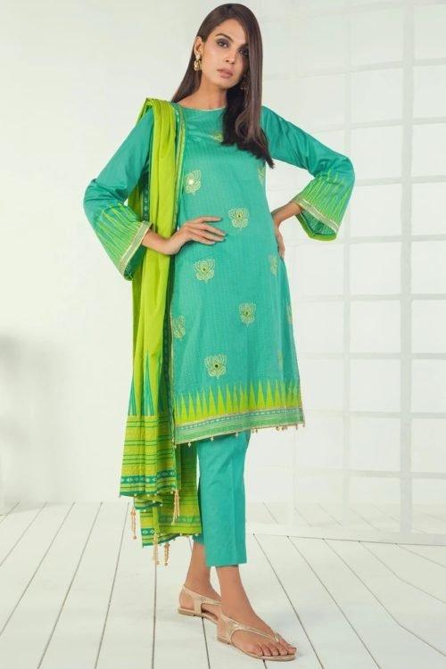*Hot on Sale* Orient Mid Summer Lawn OTL-19-190-A HOT Lawn Dupatta Salwar Suits