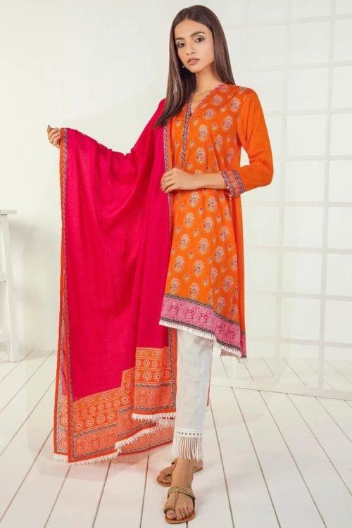 *Hot on Sale* Orient Mid Summer Lawn OTL-19-166-A HOT Lawn Dupatta Salwar Suits