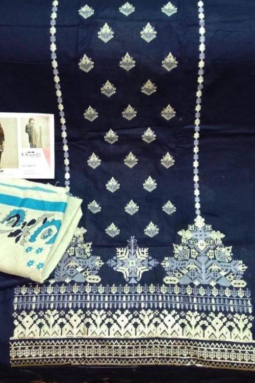 *Hot on Sale* Khaadi Winter KO 18402 B HOT best pakistani suits collection