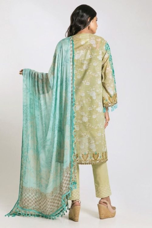 *On Sale* Khaadi Limited Edition 2019 KF Series Chiffon Dupatta Salwar Suit