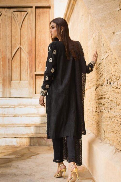 *On Sale* Black & White Embroidered Lawn Salwar Kameez by Regalia RESTOCKED Lawn Dupatta Salwar Suits