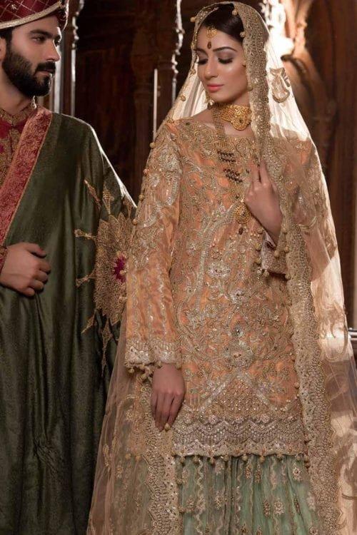 *Hot on Sale* Pakistani Bridal Wedding Dress by Maryum n Maria C-05 HOT bridal