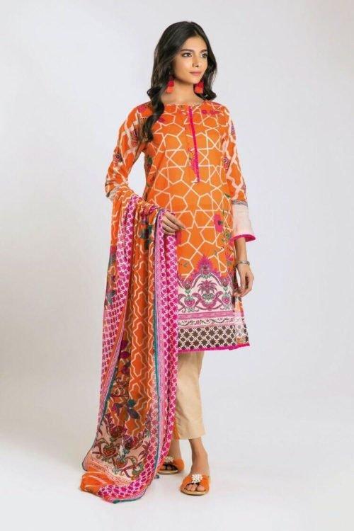 *Hot on Sale* Khaadi Limited Edition 2019 DF Series Chiffon Dupatta Salwar Suit