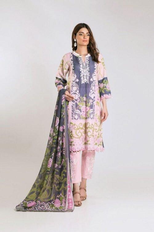 *Hot on Sale* Khaadi Limited Edition 2019 KF Series RESTOCKED – FSTN HOT! Chiffon Dupatta Salwar Suit