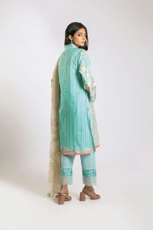 *Hot on Sale* Khaadi Limited Edition 2019 KF Series Chiffon Dupatta Salwar Suit