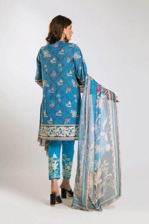 *On Sale* Khaadi Limited Edition 2019 KF Series Restocked Chiffon Dupatta Salwar Suit