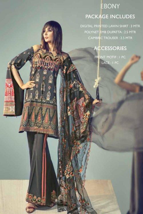 *On Sale* Ittehad Signature Series Chiffon Dupatta Salwar Suit