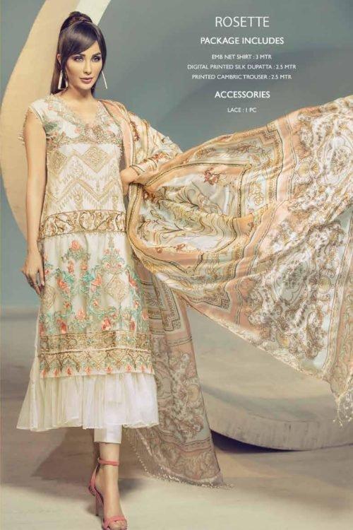 *On Sale* Ittehad Signature Series RESTOCKED Chiffon Dupatta Salwar Suit