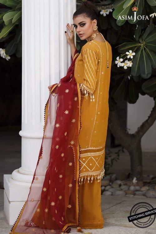 Ready to Ship Zartaar Collection by Asim Jofa AJZ-08 Ready to Ship - Original Pakistani Suits
