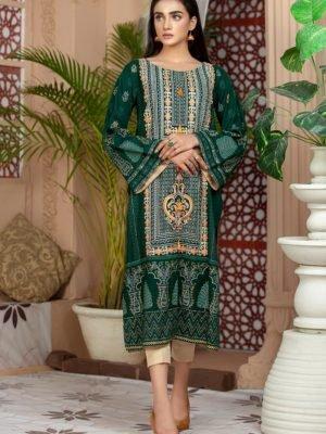 *Hot on Sale* Lakhany Sahar Embroidered Kurti SK-7006-A HOT Ready to Ship - Original Pakistani Suits