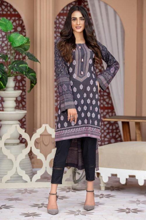 *Hot on Sale* Lakhany Sahar Embroidered Kurti SK-7001-A Ready to Ship - Original Pakistani Suits