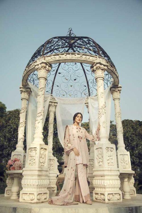 *On Sale* La Chantelle by Adan's Libas BLUSH PINK RESTOCKED Ready to Ship - Original Pakistani Suits