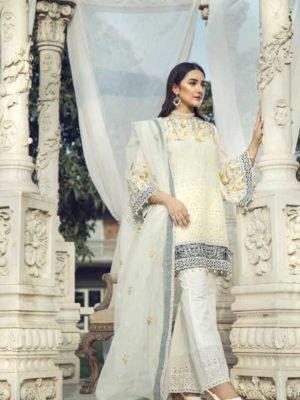 *Hot on Sale* MARIAB MPRINTS KATPANA 1A HOT Chiffon Dupatta Salwar Suit