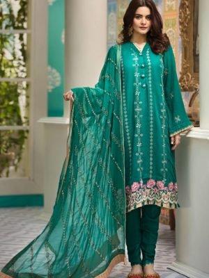 *Hot on Sale* Raaya Embroidered Lawn Winter Karandi by Rang Rasiya  D 706 B HOT Ready to Ship - Original Pakistani Suits