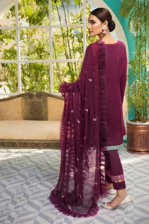 Raaya Embroidered Lawn Karandi by Rang Rasiya - Original Raaya Embroidered Lawn Winter Karandi by Rang Rasiya D 705 B Salwar Suits Pakistani Suits for Winter