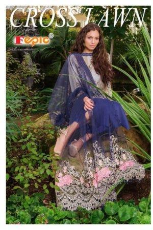Blue White Pakistani Style Salwar Kameez – Sobia Style *Best Sellers Restocked* [tag]